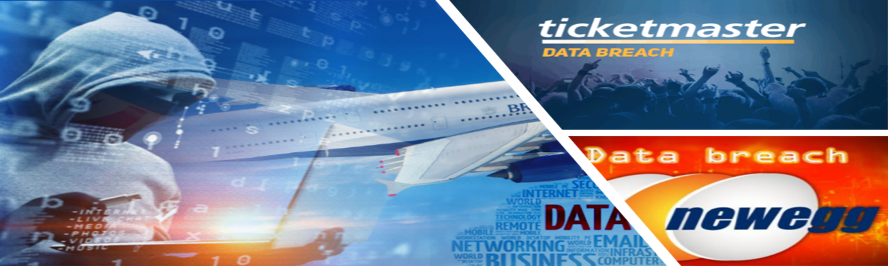 data breach ticketmaster british airways newegg